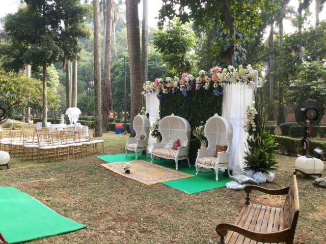Venue Pernikahan di Taman