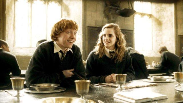Ron Weasley dan Hermione Granger