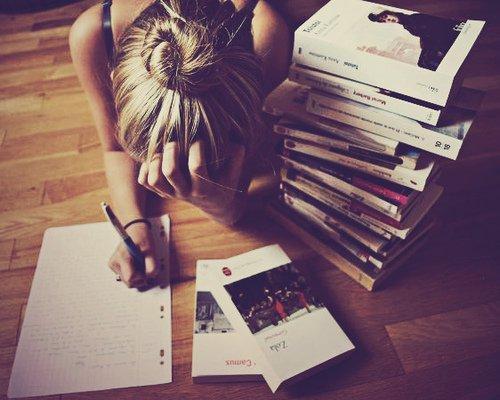 Terlalu banyak ide yang mau ditulis