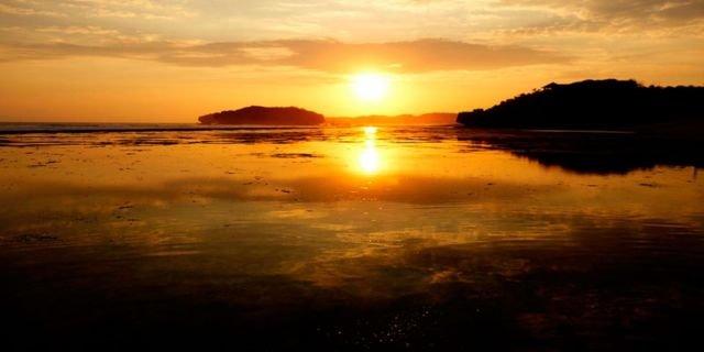 Keren abis Sunset Pantai Sundak Gunung Kidul