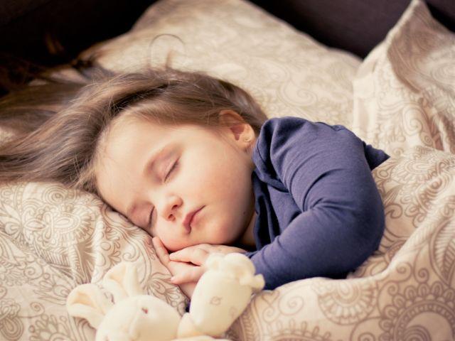 Baby Girl Sleep Child Toddler