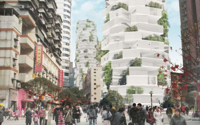 Resident Tower in China
