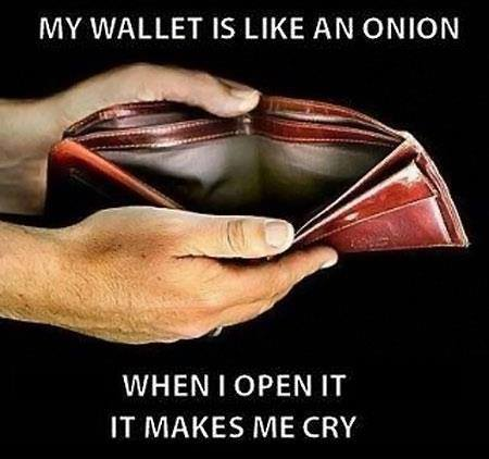 My Wallet is like an Onion