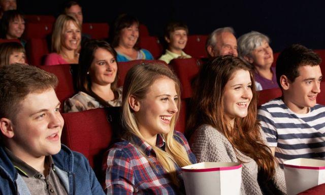 Watching film