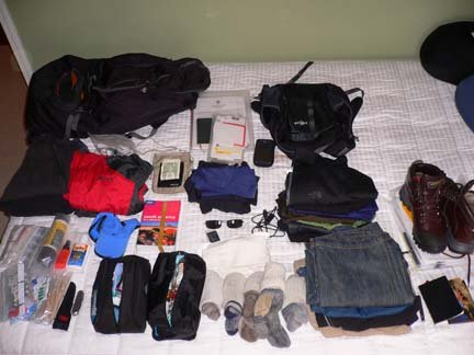 packing sebelum mendaki
