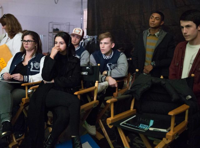 Selena with cast