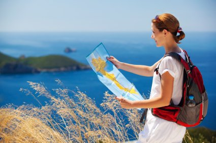 Peta wisata bisa membantu jika kamu tersesat di suatu tempat
