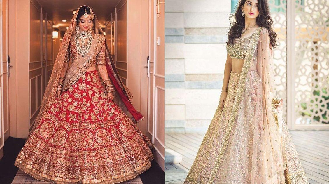 17 Inspirasi Gaun Pengantin a la Bollywood untuk ...