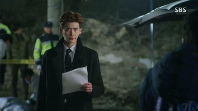 Lee Jong Suk on Pinocchio