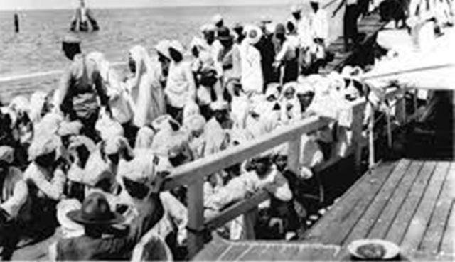 Perjalanan haji menggunakan kapal dagang via www.boombastis.com