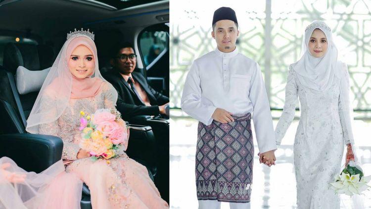 13 Inspirasi Gaun Pengantin Melayu Untukmu Yang Berhijab Sederhana
