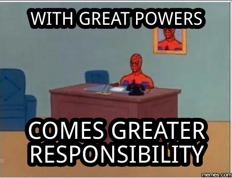 greater responsibility