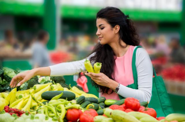 Konsumsi sayuran dan buah-buahan