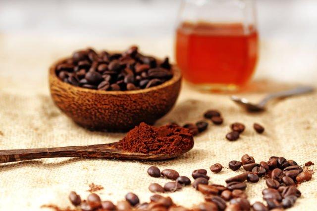 Coffee Ground and Honey