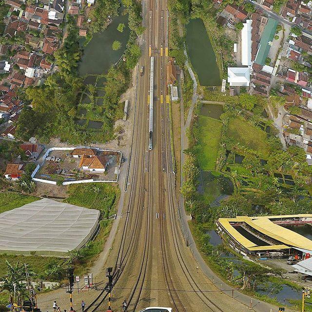 Patukan Train Station, Sleman, Yogyakarta, Indonesia