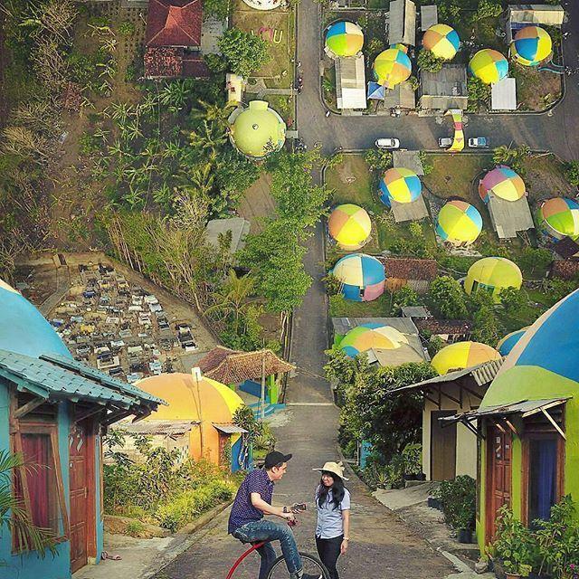 Desa Wisata Rumah Dome, Yogyakarta, Indonesia
