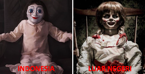 The Doll (Indonesia) vs Annabelle (Hollywood)