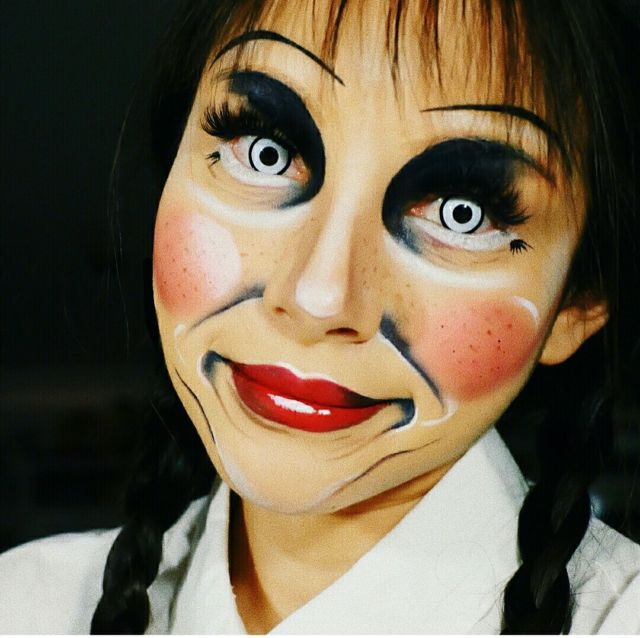 Annabelle Make up