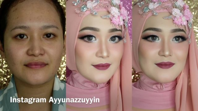 Make-up Barbie/wedding hijab
