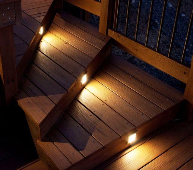 pencahayaan anak tangga