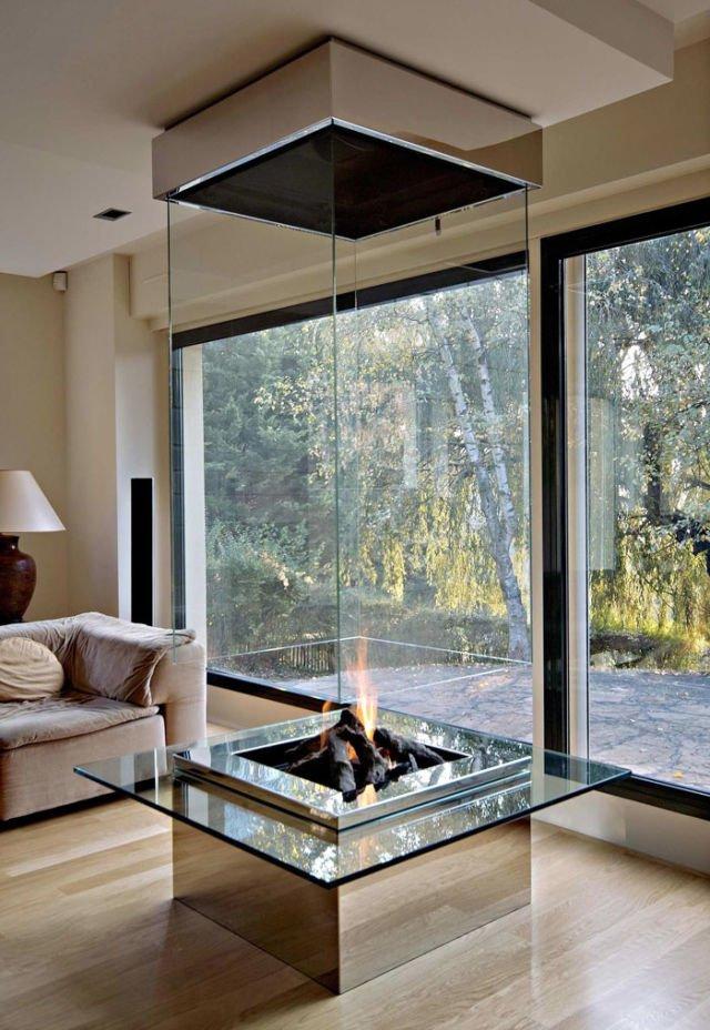 Modern Luxury Fireplace