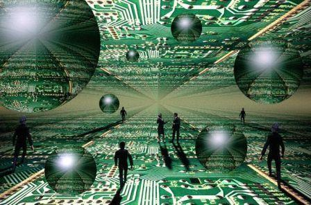 Dunia maya itu Dua Dunia