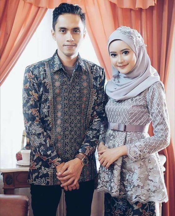 11 Inspirasi Model Batik Sarimbit Untuk Lamaran Biar Kalian Tampil