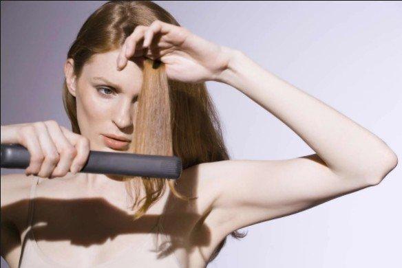 Penggunaan Catok Rambut