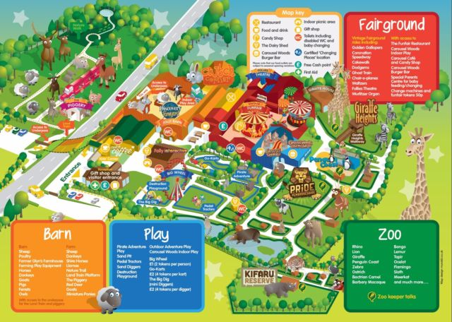 Folly Farm Map
