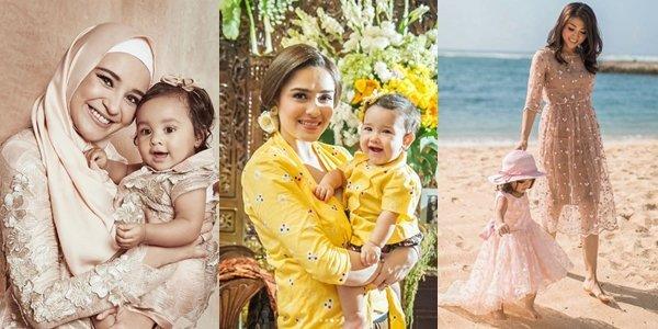 12 Inspirasi Baju Kondangan Ala Selebritas Yang Kompak Buat Mama