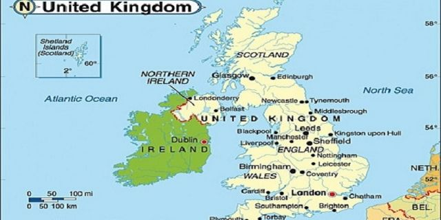 Peta Kerajaan United Kingdom