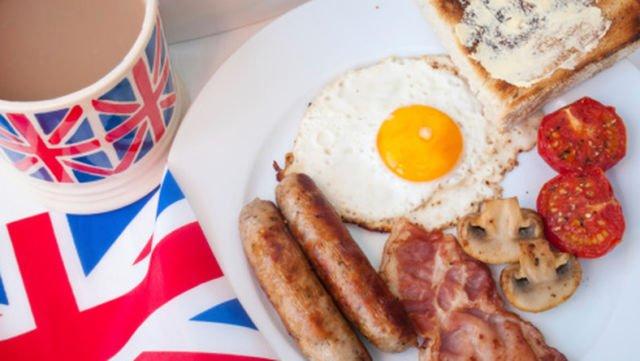 breakfast tea di Inggris