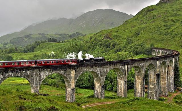 kereta Skotlandia