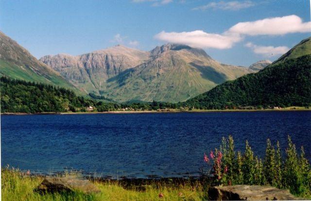 Bidean Nam Bian Mountain Scotland