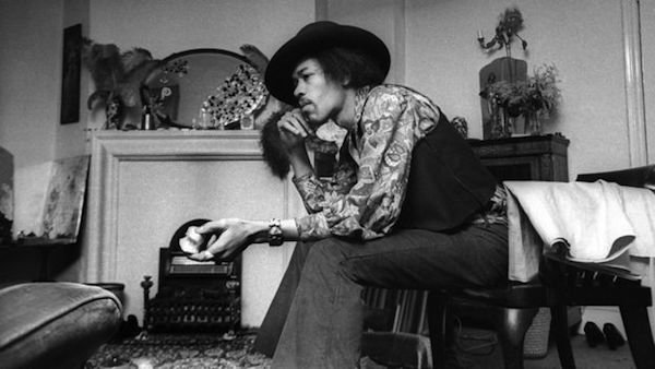 Jimi at His House, 23 Brook Street