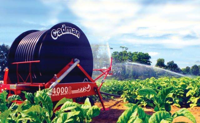 irigasi lahan tembakau