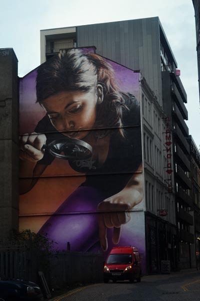 Mural yang paling ikonik di Glasgow