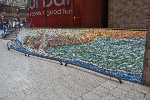 Central Station Mural
