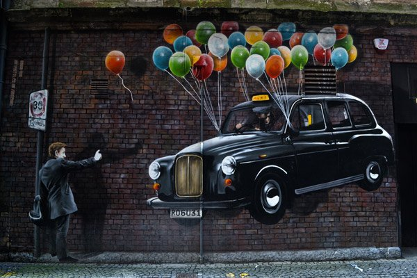 Taxi Baloons