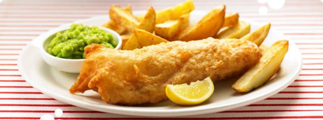 the original taste of fish and chip