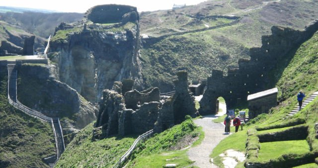 Tintagel King Arthur's Castle