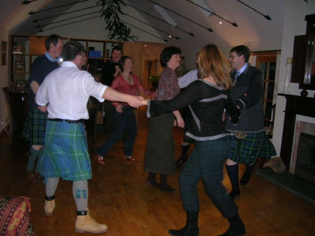 Ceilidh Dance (Foto Pribadi)