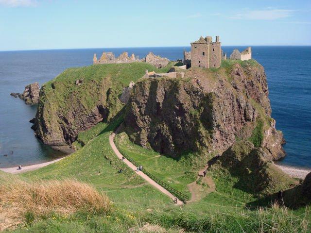 Kastil Dunnottar