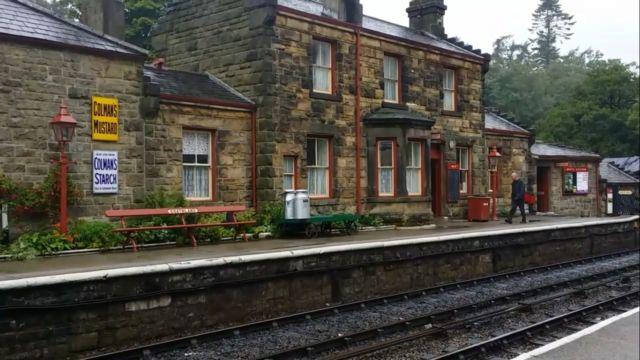 Stasiun Desa Goathland, Yorkshire