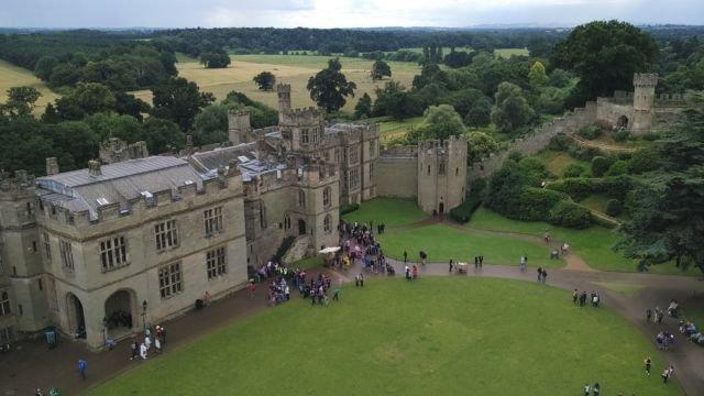 Kemegahan Warwick Castle (Foto Pribadi)