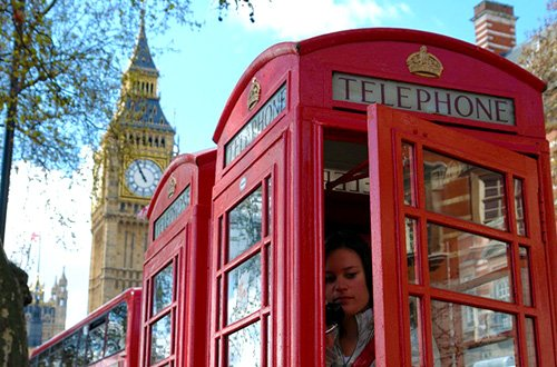 Telephone di UK