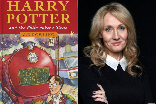 JK Rowling & Harry Potter the Philosoper's Stone