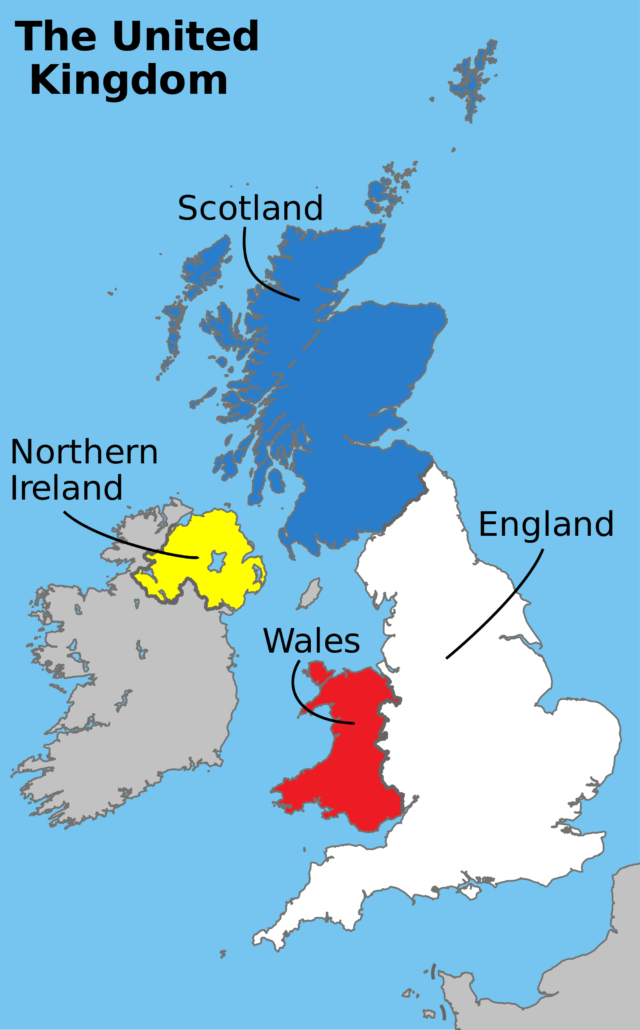 Peta Inggris Raya