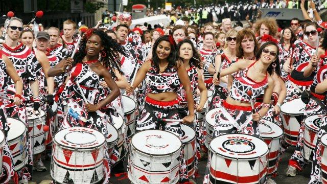 Suasana Karnaval Notting Hill, London