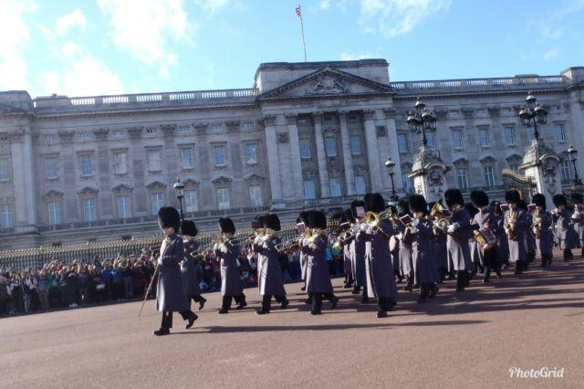 Koleksi Foto Pribadi - Upacara Penggantian Penjaga di istana Buchkingham